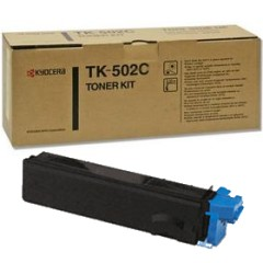 Genuine Kyocera Mita TK-502C Cyan Toner Cartridge