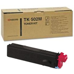 Genuine Kyocera Mita TK-502M Magenta Toner Cartridge