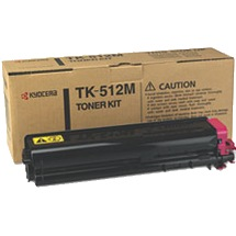 Genuine Kyocera Mita TK-512M Magenta Toner Cartridge