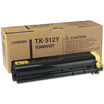 Genuine Kyocera Mita TK-512Y Yellow Toner Cartridge