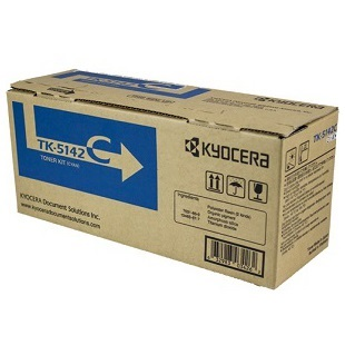 TK-5142C Toner Cartridge - Kyocera Mita Genuine OEM (Cyan)