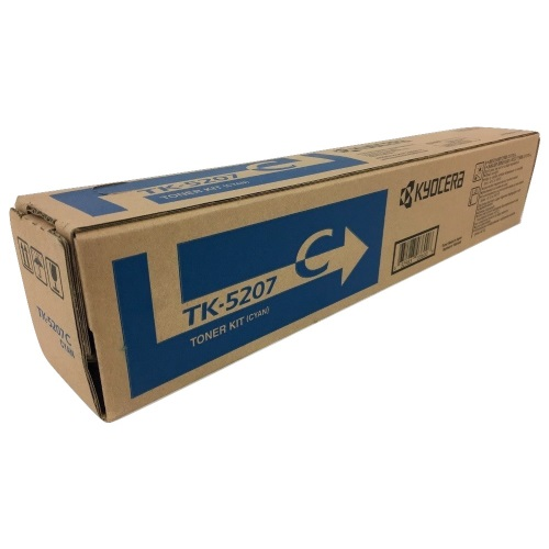 TK-5207C Toner Cartridge - Kyocera Mita Genuine OEM (Cyan)