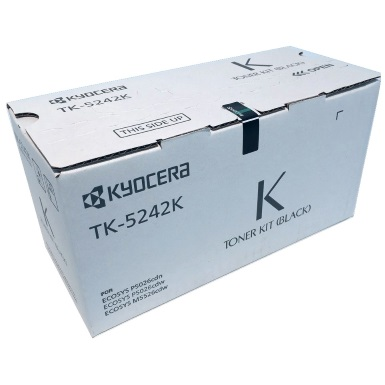 TK-5242K Toner Cartridge - Kyocera Mita Genuine OEM (Black)