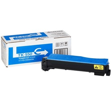 Genuine Kyocera Mita TK-552C Cyan Toner Cartridge