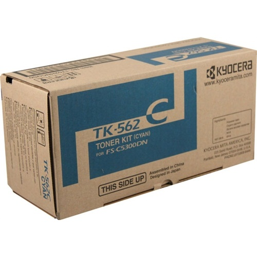 TK-562C Toner Cartridge - Kyocera Mita Genuine OEM (Cyan)