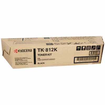 Genuine Kyocera Mita TK-812K Black Toner Cartridge