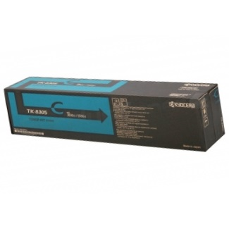 TK-8307C Toner Cartridge - Kyocera Mita Genuine OEM (Cyan)