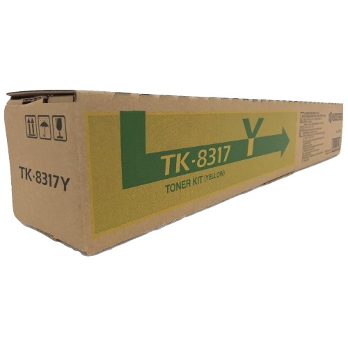 Genuine Kyocera Mita TK-8317Y Yellow Toner Cartridge