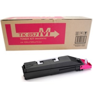 Genuine Kyocera Mita TK-857M Magenta Toner Cartridge