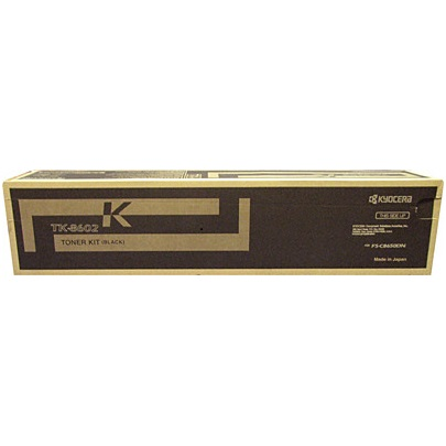 Genuine Kyocera Mita TK-8602K Black Toner Cartridge