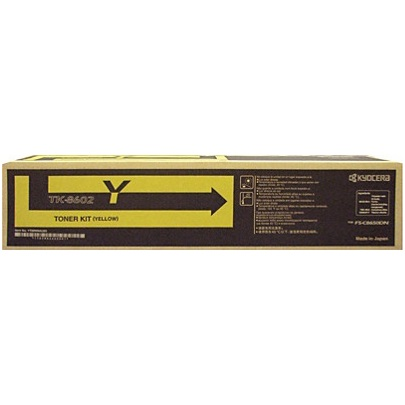 Genuine Kyocera Mita TK-8602Y Yellow Toner Cartridge