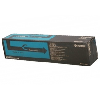Genuine Kyocera Mita TK-8707C Cyan Toner Cartridge