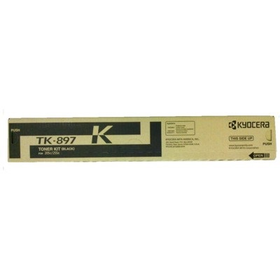 Genuine Kyocera Mita TK-897K Black Toner Cartridge
