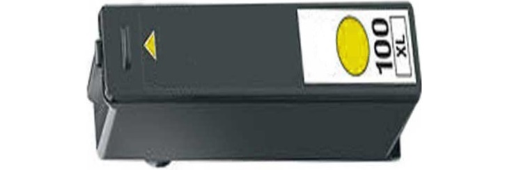 Lexmark #100XL Yellow Compatible