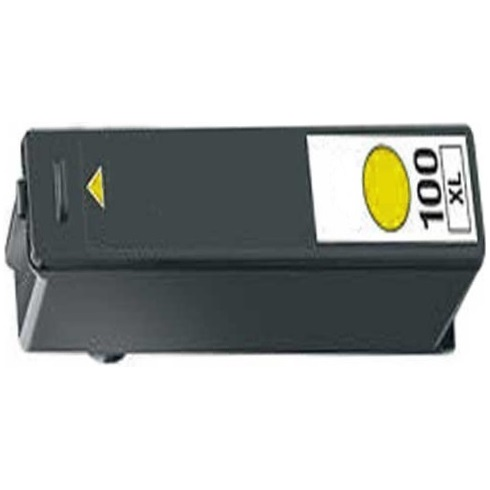 Lexmark #100XL Yellow Ink Cartridge - Lexmark Compatible (Yellow)