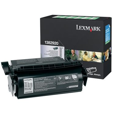 1382920 Toner Cartridge - Lexmark Genuine OEM (Black)