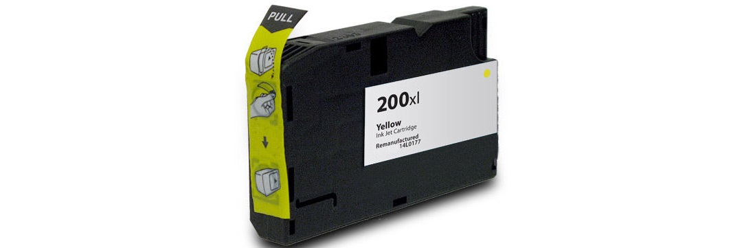 Lexmark #200XL Yellow Compatible