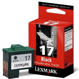 Genuine Lexmark #17 Black Ink Cartridge