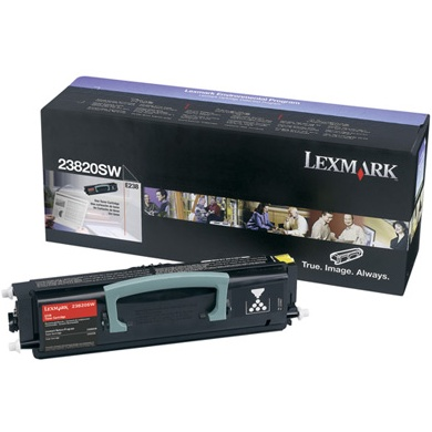 23800SW Toner Cartridge - Lexmark Genuine OEM (Black)
