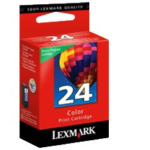 Lexmark #24 Ink Cartridge - Lexmark Genuine OEM (Color)