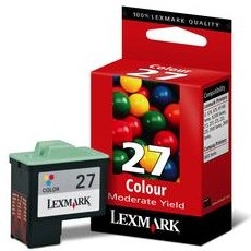 Genuine Lexmark #27 Color Ink Cartridge
