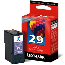 Lexmark #29 Ink Cartridge - Lexmark Genuine OEM (Color)