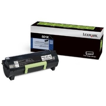 Genuine Lexmark 50F1X00 Black Toner Cartridge
