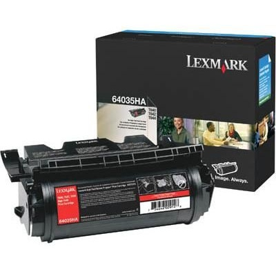 64015HA Toner Cartridge - Lexmark Genuine OEM (Black)