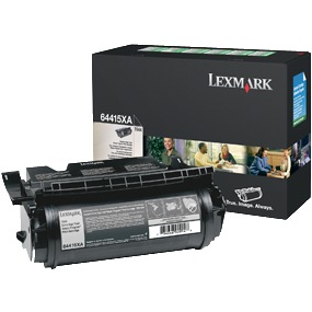 Genuine Lexmark 64415XA Black Toner Cartridge