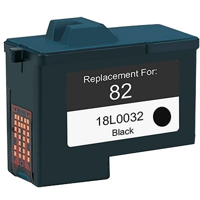 Lexmark #82 Ink Cartridge - Lexmark Remanufactured (Black)