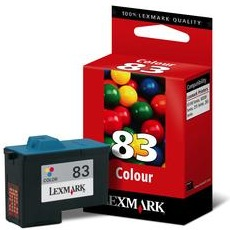 Lexmark #83 Ink Cartridge - Lexmark Genuine OEM (Color)