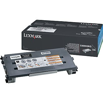 C500H2KG Toner Cartridge - Lexmark Genuine OEM (Black)
