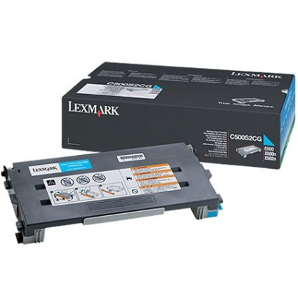 Genuine Lexmark C500S2CG Cyan Toner Cartridge