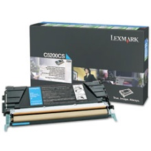 Genuine Lexmark C5200CS Cyan Toner Cartridge