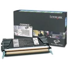 Genuine Lexmark C5200KS Black Toner Cartridge