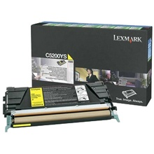 Genuine Lexmark C5200YS Yellow Toner Cartridge