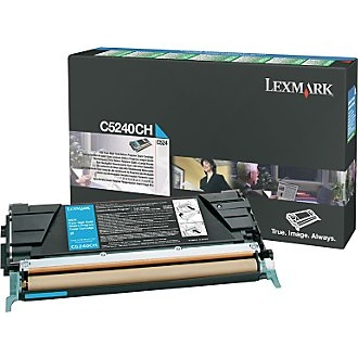 C5240CH Toner Cartridge - Lexmark Genuine OEM (Cyan)