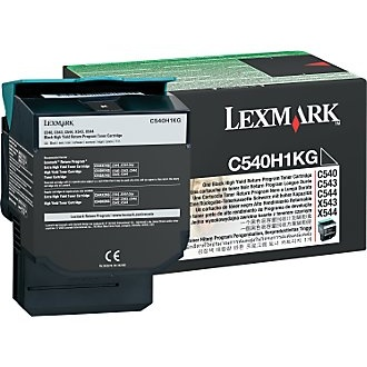 C540H1KG Toner Cartridge - Lexmark Genuine OEM (Black)