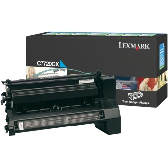 C7720CX Toner Cartridge - Lexmark Genuine OEM (Cyan)