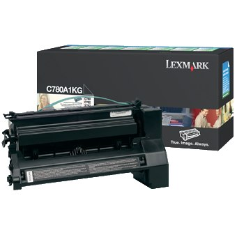 C780A1KG Toner Cartridge - Lexmark Genuine OEM (Black)