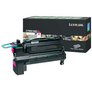 C792X1MG Toner Cartridge - Lexmark Genuine OEM (Magenta)