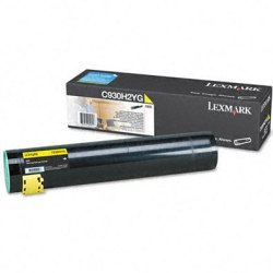 Genuine Lexmark C930H2YG Yellow Toner Cartridge