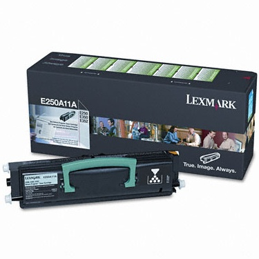 E250A11A Toner Cartridge - Lexmark Genuine OEM (Black)