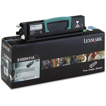 Genuine Lexmark E450H11A Black Toner Cartridge