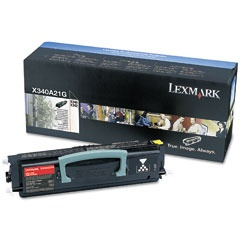 X340A11G Toner Cartridge - Lexmark Genuine OEM (Black)