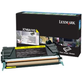 X746A1YG Toner Cartridge - Lexmark Genuine OEM (Yellow)