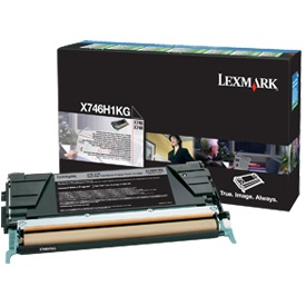 X746H1KG Toner Cartridge - Lexmark Genuine OEM (Black)