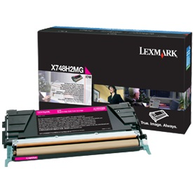X748H1MG Toner Cartridge - Lexmark Genuine OEM (Magenta)