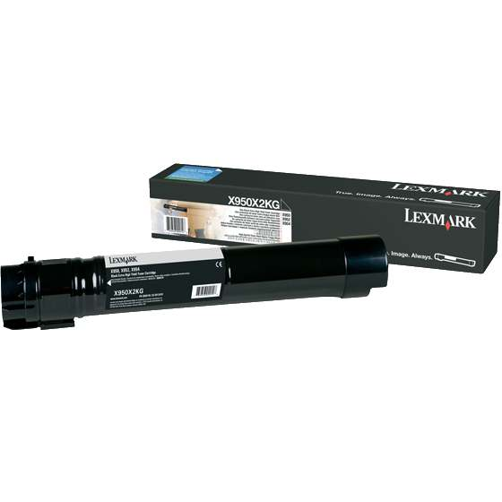 Genuine Lexmark X950X2KG Black Toner Cartridge