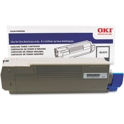 Genuine Okidata 41963004 Black Toner Cartridge